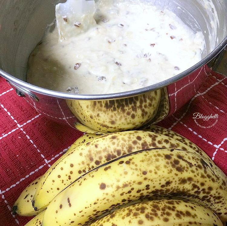 Perfect Banana Bread Batter