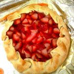 Rustic Strawberry Tart
