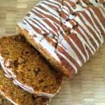 Glazed Pumpkin-Spice Bread