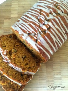 Glazed Pumpkin-Spice Bread
