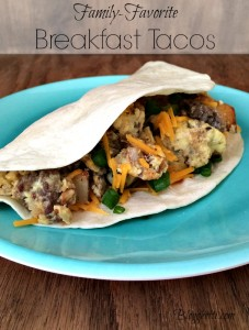 Family-Favorite Breakfast Tacos