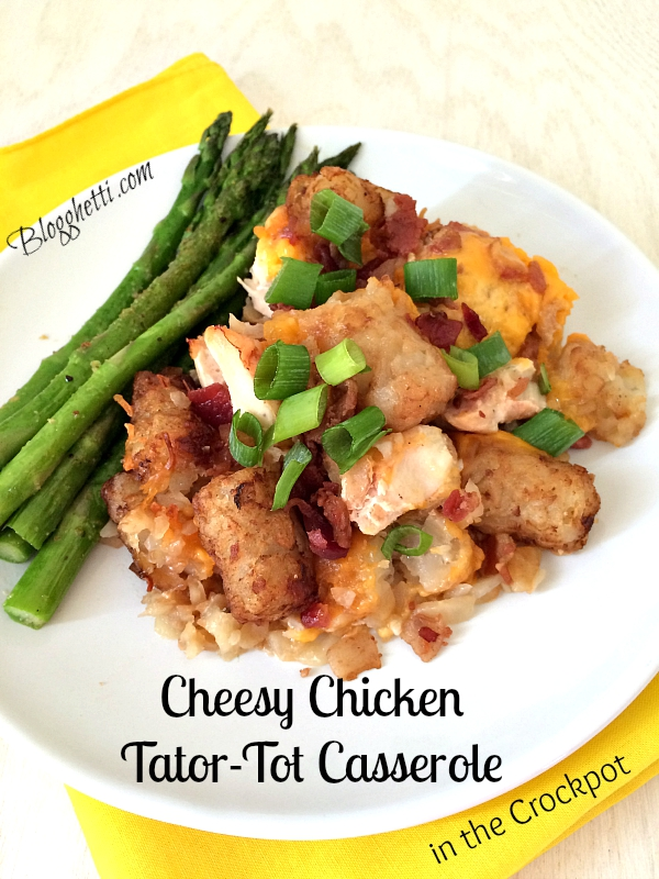 Cheesy Chicken Tator-Tot Casserole
