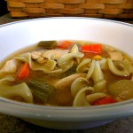 Chicken Noodle Soup (Crockpot)