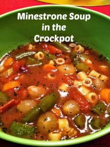 Minestrone Soup (Crockpot)