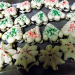 Chocolate-Filled Spritz Cookies
