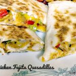 These Chicken Fajita Quesadillas are filled with tender marinated chicken and fajita vegetables and lots of cheese! The recipe is simple, delicious, and healthy.