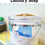 DIY Laundry Soap