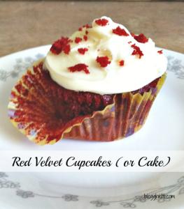 Red Velvet Cupcakes (or Cake)