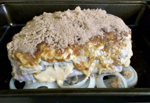 Roasted Pork with Brown Sugar-Dijon Mustard Glaze
