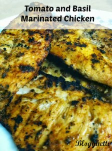 Tomato and Basil Marinated Chicken