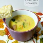 Cheesy Vegetable Chowder (soup)
