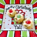 Sugarplum Thumbprint Cookies