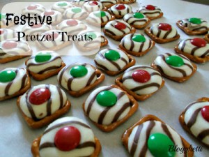 Festive Pretzel Treats