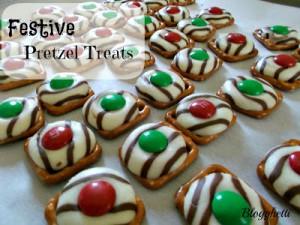 Festive Pretzel Treats