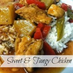 Sweet and Tangy Chicken (Crockpot)