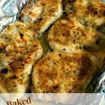 Baked Garlic and Brown Sugar Chicken