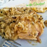 Creamy Chicken & Wild Rice (Crockpot)