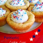 Patriotic Cookie Cups