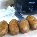 Easy Baked Potatoes (Crockpot)