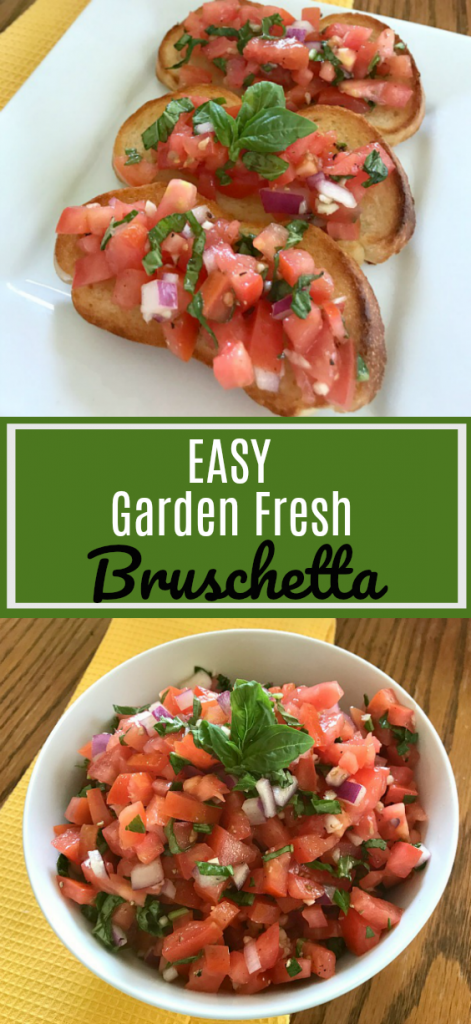 Bruschetta Is A Perfect Way To Capture The Summer Flavors Of Garden Ripened  Tomatoes, Fresh