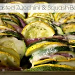 Roasted Zucchini and Squash Bake