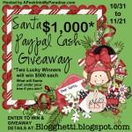 Santa Paypal Cash Giveaway!