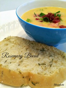 Rosemary Bread (Copycat recipe – Macaroni Grill)