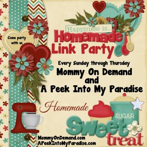 Happiness is Homemade Link Party #49