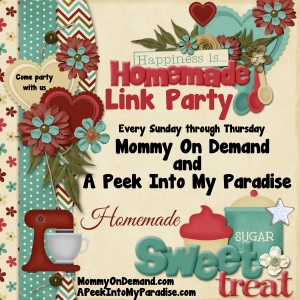 Happiness is Homemade Link Party #42 – Now Open!