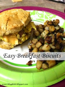 Easy Breakfast Biscuits