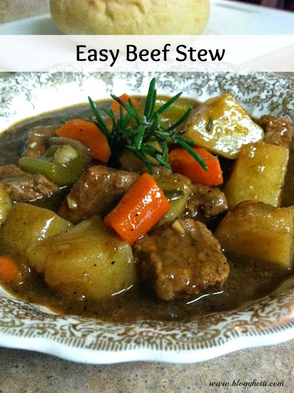 Easy Beef Stew Recipe — Dishmaps