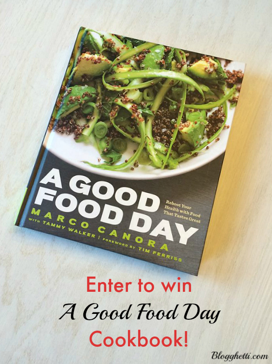Cookbook Giveaway Blogghetti