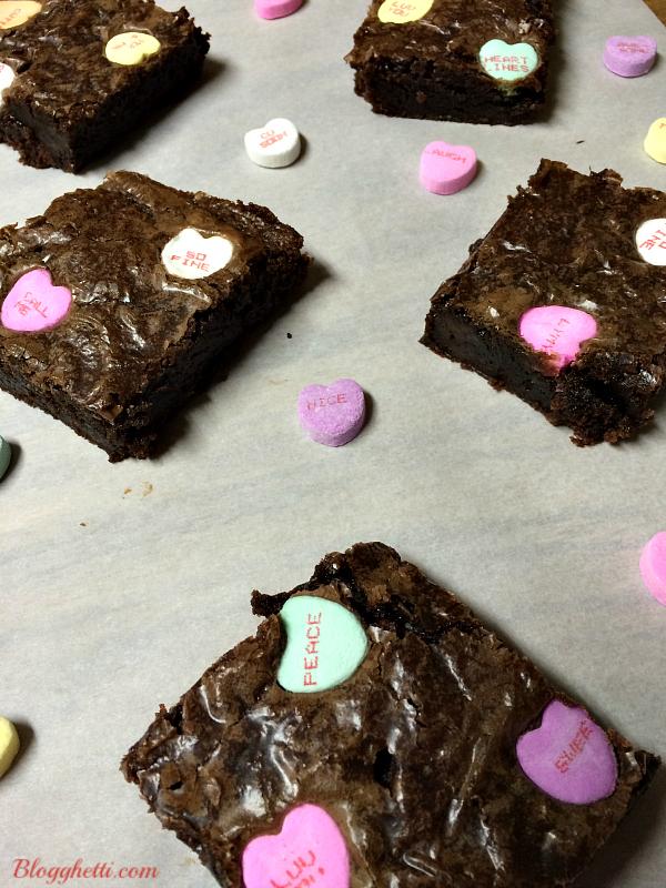 Valentine Brownie: Easy Valentine's Day Brownies