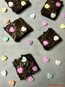 Easy Valentine's Day Brownies