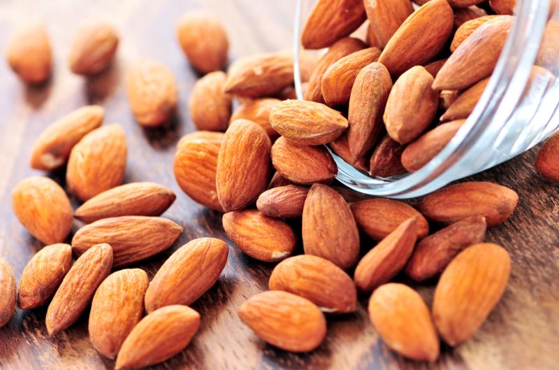 Almonds photograph from google.com