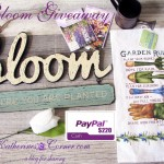 Bloom Where You Are Planted Giveaway!