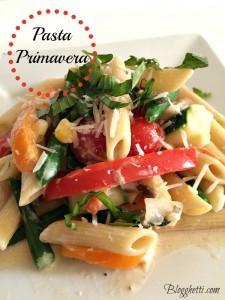 Meatless Mondays – Pasta Primavera