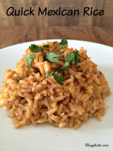Quick Mexican Rice
