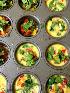 Meatless Monday – Mini Muffin Veggie Omelets