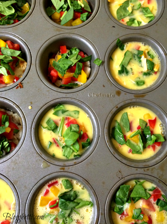 eggs in muffin tins