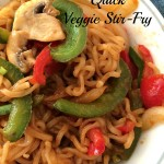 Meatless Monday - Quick Veggie Stir-Fry
