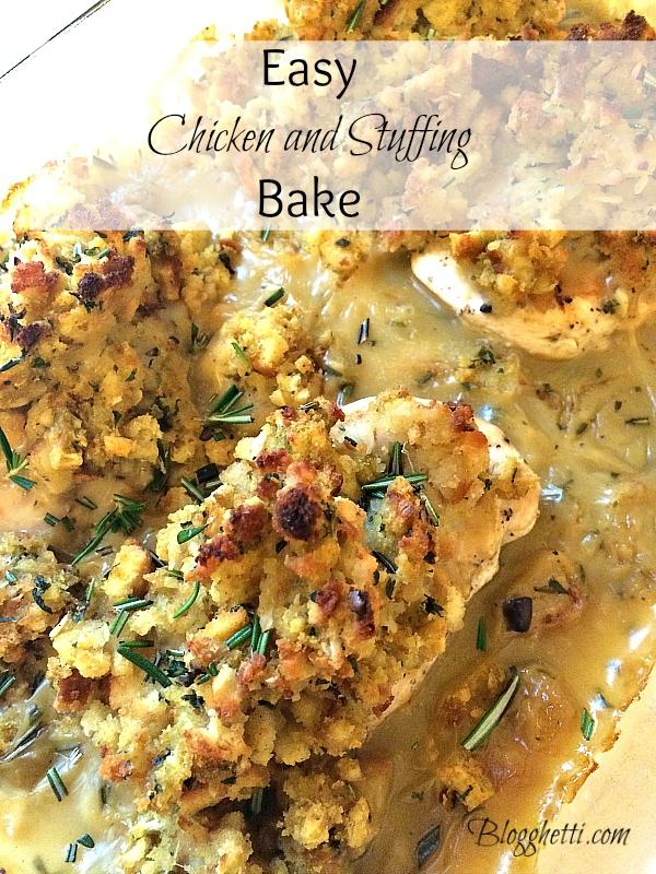 Chicken stuffing casserole recipes easy
