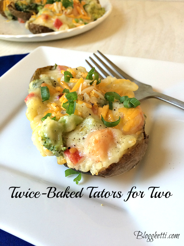 twice-baked tators for two