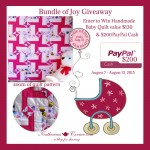 Bundle of Joy Giveaway!