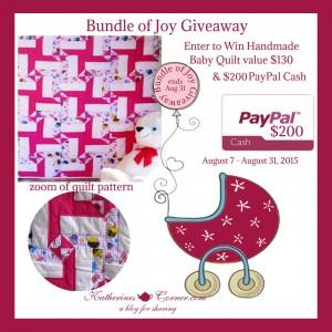 Bundle of Joy Giveaway!
