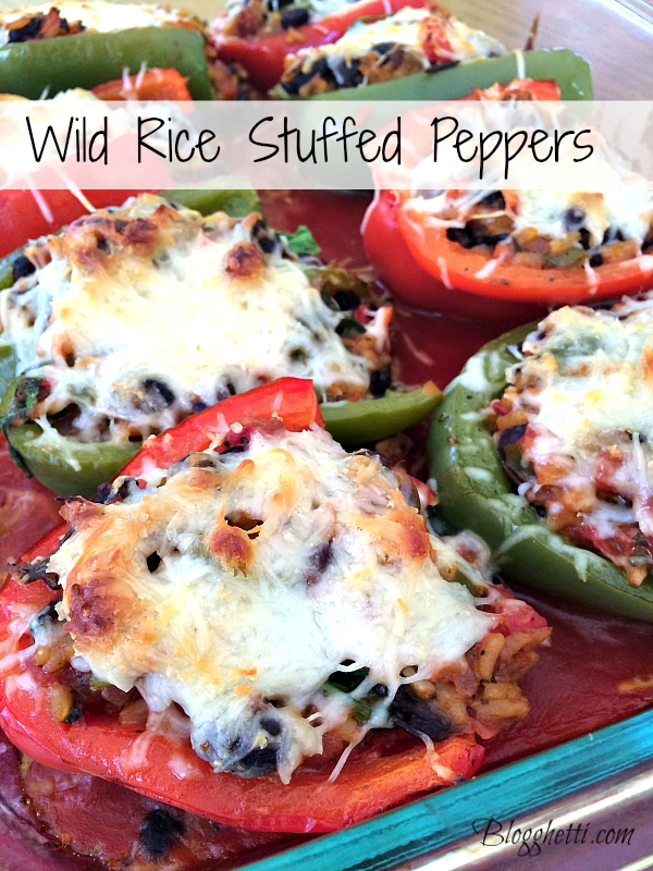 wild rice stuffed peppers