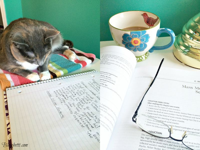 coffee and study