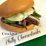 Crockpot Philly Cheesesteaks