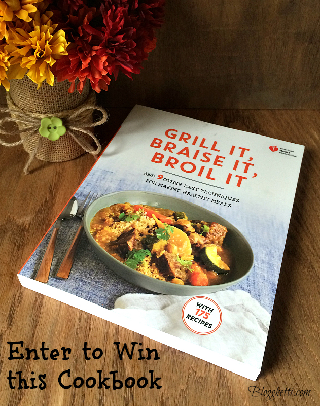 promo cookbook giveaway
