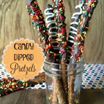 Candy Dipped Pretzels